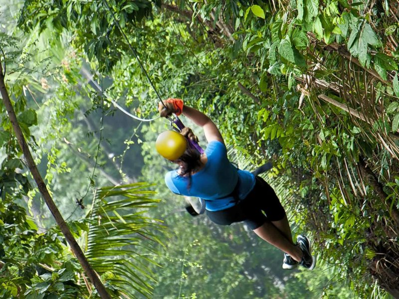 Zipline in Atlantida