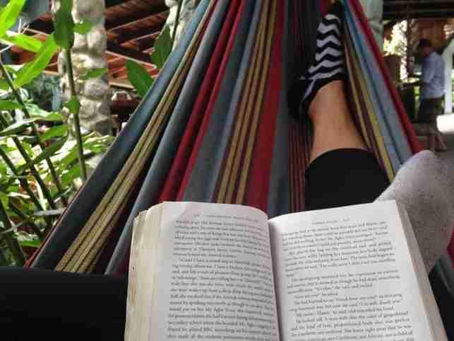 Hamaca en la Villa de Soledad Rio Cangrejal