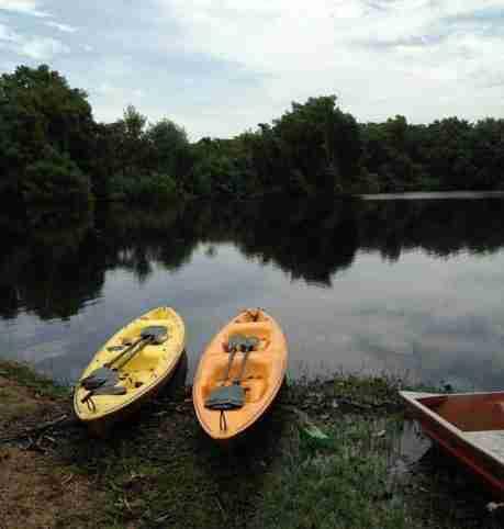 Kayaks en Punta Izopo