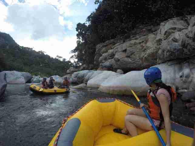 Lista para la acción en Río Cangrejal