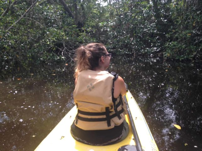 Navegando en Kayaks en Punta Izopo