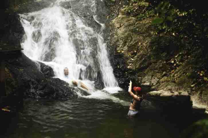 Hot Springs in La Ceiba