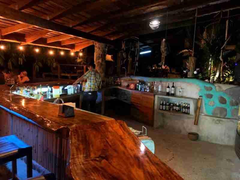 A bar in the jungle