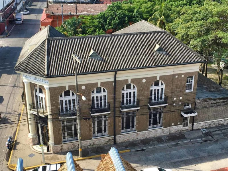 Banco Atlántida nació en La Ceiba