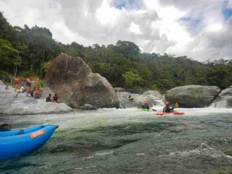 Aventura Extrema en el Rio Cangrejal