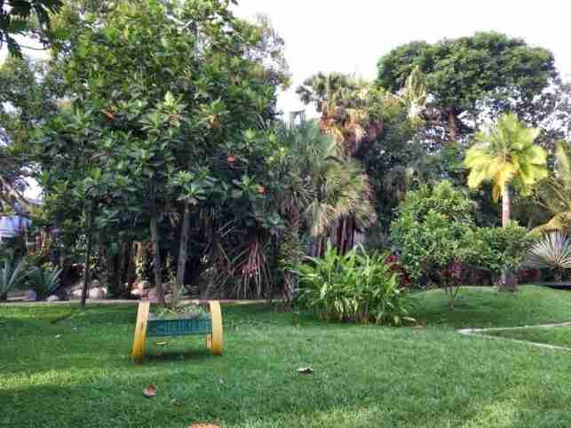 Parque Swinford en La Ceiba
