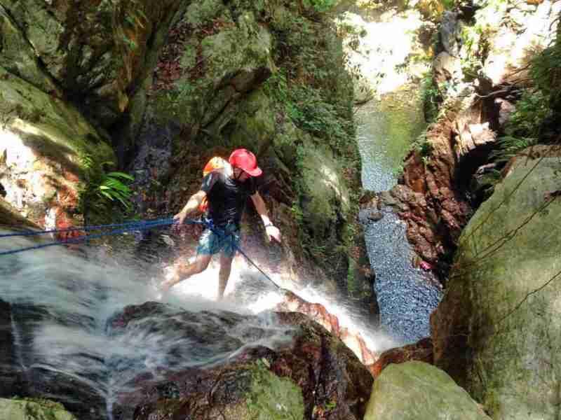 Canyoneering in Atlantida