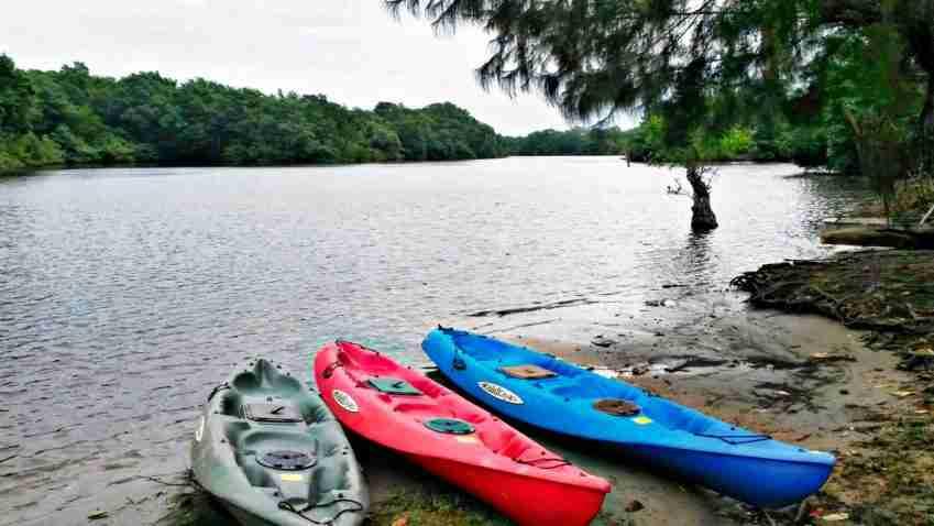 kayaks listo para la aventura