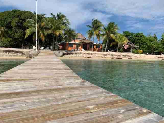 Utila desde La Ceiba