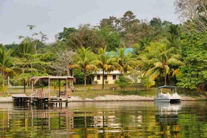 Los Olingos Lodge en La Laguna de Los Micos