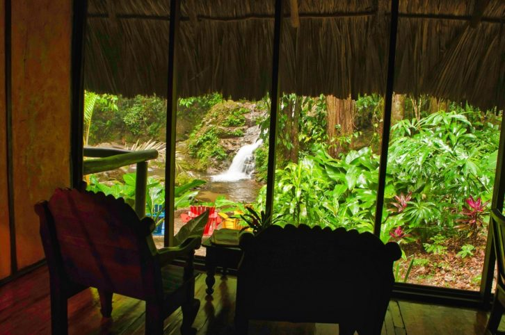 Hoteles de lujo en la cuenca del Rio Cangrejal