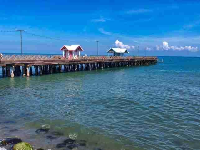El Viejo Muelle de La Ceiba