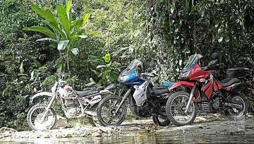 Motorcycle Tour in Tela