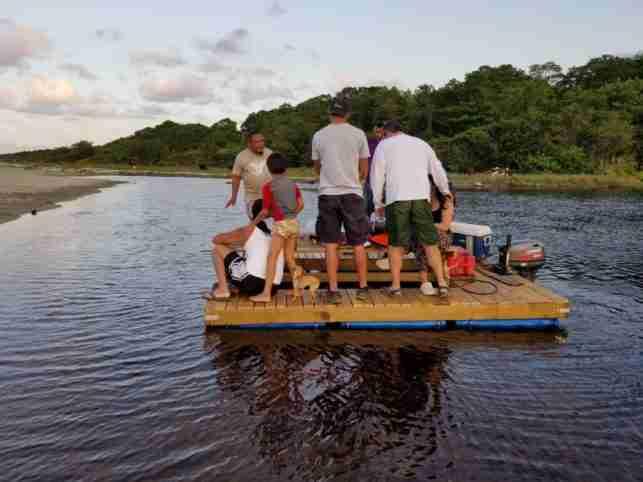 touring Cacao Lagoon